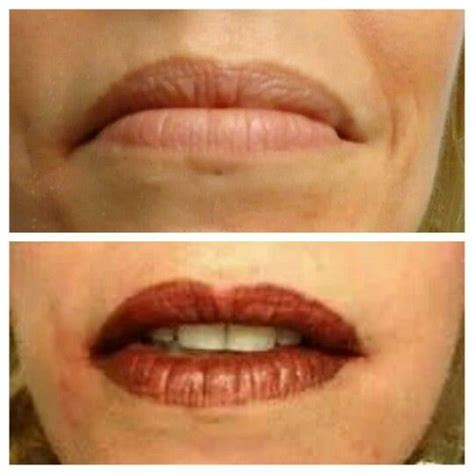 lip liner tattoo pinterest before and after tattooed lips www perfectioustatu com