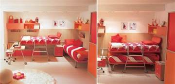 Cool Bedrooms Ideas Cool And Ergonomic Bedroom Ideas For Two Children By