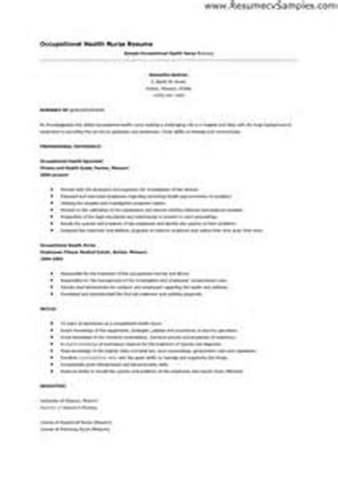Occupational Health Resume Objective Sle Resume Application For Powerline Technician Resume1 Resume Sle