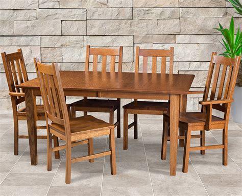 Amish Dining Room Sets Amish Delano Mission Dining Set Dining Room Sets Furniture Haus
