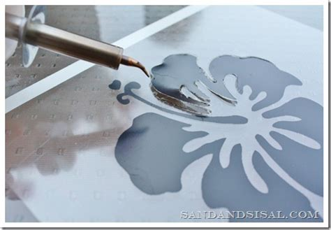 How To Make A Stencil With Tracing Paper - 15 stencils made from unconventional materials