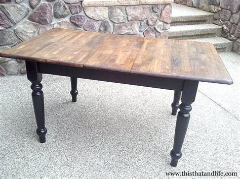 reclaimed wood dining table with leaves woodworking