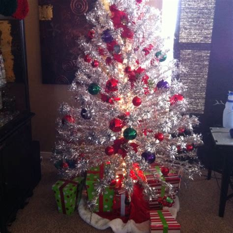 aluminum christmas tree history pinterest