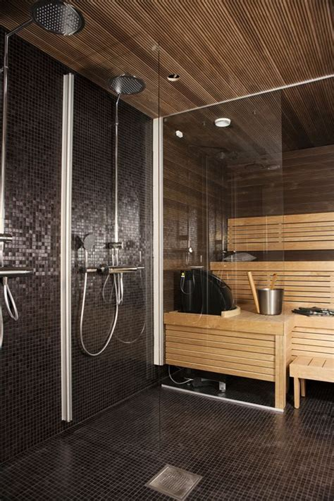 bathroom sauna sauna and shower close together perfect ideas for my