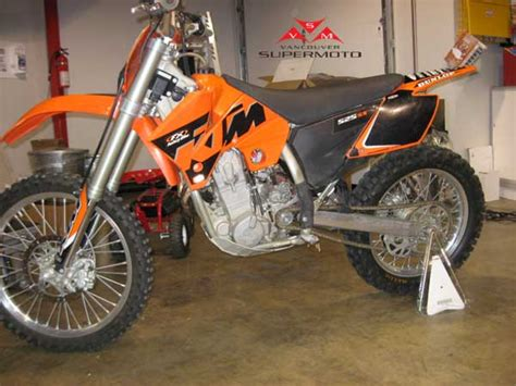 Ktm Supermoto Conversion Vancouver Supermoto 2005 Ktm 525 Sx