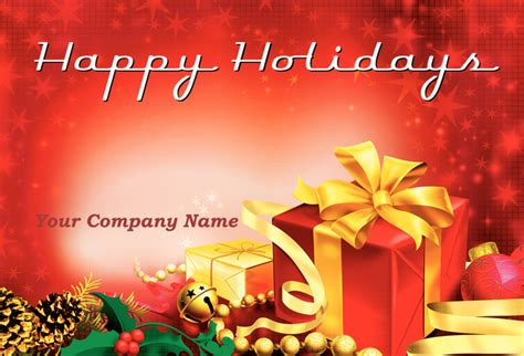 happy holidays photo card template free 9 best images of happy holidays card sles happy
