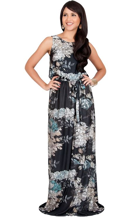 Casual Maxi laurel sleeveless floral casual summer maxi dress