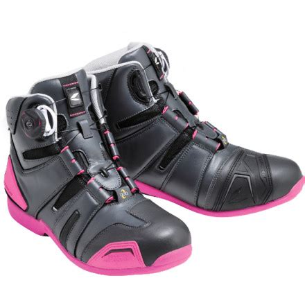 Shoes Taichi Rss006 Charcoal Pink 43 rs taichi drymaster boa shoes rss006 motosport