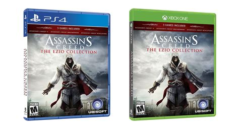 Kaset Ps4 Assassins Creed The Ezio Collection assassin s creed ezio collection trailer coming to ps4