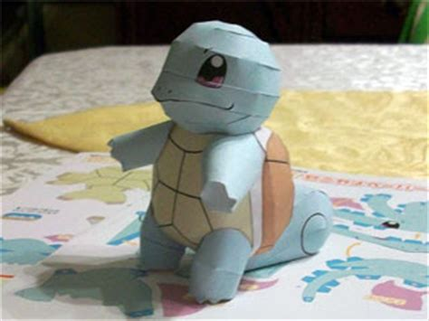 Squirtle Papercraft - squirtle papercraft 2 chokipeta paperkraft net