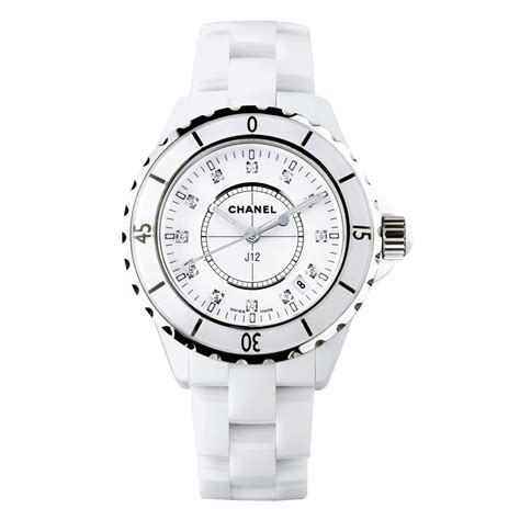 Chanel Ceramic White channel 183 j12 channel j12 toupeenseen部落格