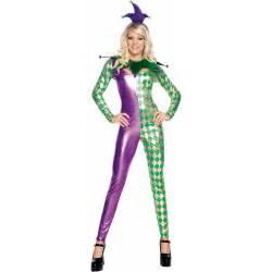 Mardi gras harlequin catsuit adult costume buycostumes com