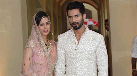 sahid kapur whif photo danvnlod shahid kapoor mira rajput s big fat wedding the whole