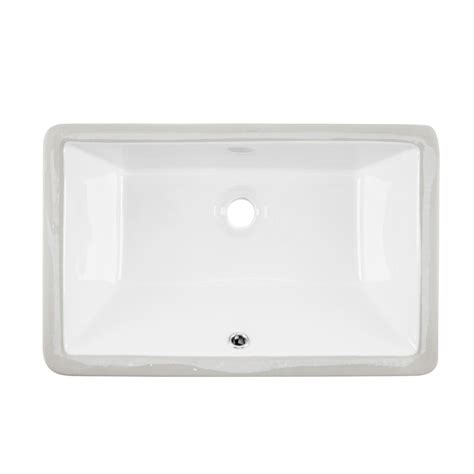 Rectangular Undermount Vanity Sink by American Standard Studio Rectangular Undermount Bathroom