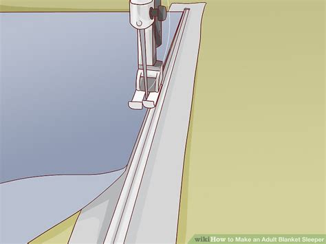 Blanket Sleeper For Adults by How To Make An Blanket Sleeper With Pictures Wikihow