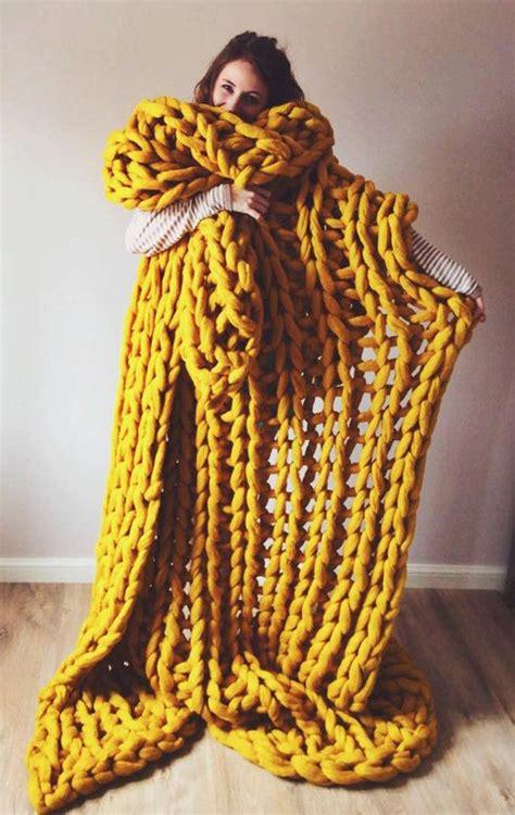 Grob Gestrickte Wolldecke by 220 Ber 1 000 Ideen Zu Grob Geh 228 Kelte Decken Auf