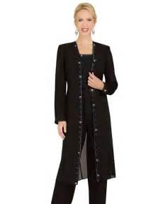 Misty lane 13539 womens formal evening duster jacket pant suit sizes