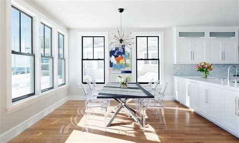 Dining Room Table Modern the louis ghost chair a modern balance of design