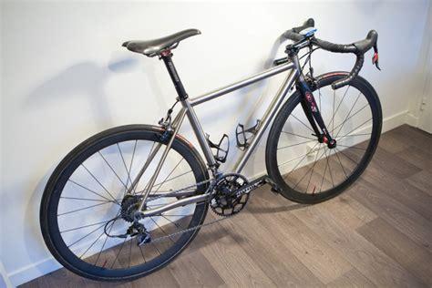 Handmade Titanium Bikes - spanner bikes david s custom titanium road
