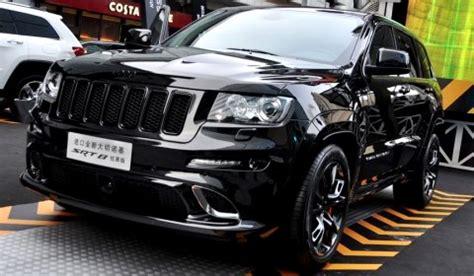 jeep grand cherokee srt8 hyun black edition debuts in