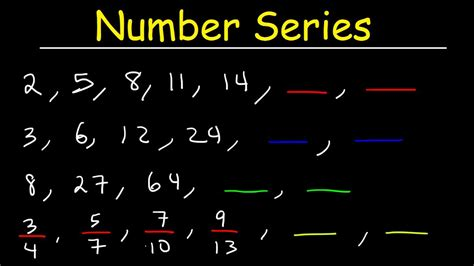 find pattern series numbers number series reasoning tricks patterns and sequences
