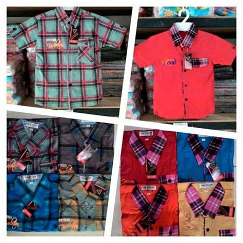 Kemeja Anak Family 18 Merah grosir kemeja anak import grosir kemeja pria murah di bandung grosir kemeja anak branded kemeja
