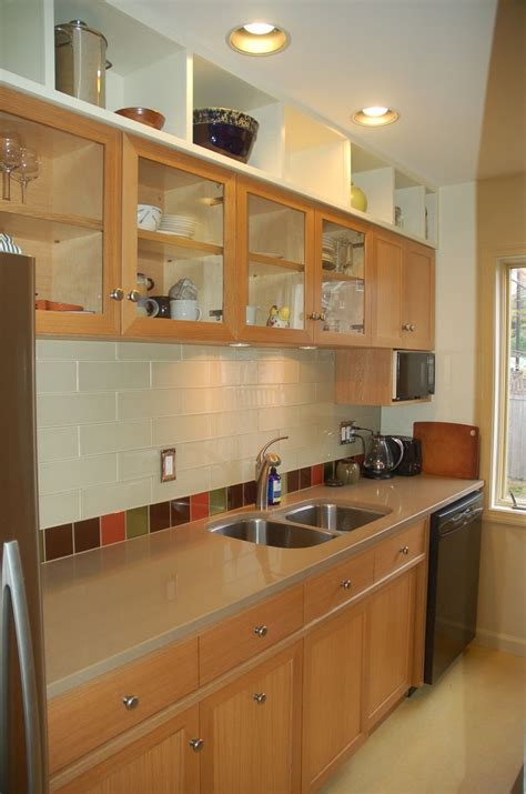 Made Kitchen Cabinets by Handmade Custom Oak Kitchen Cabinets Remodel By