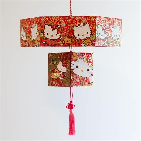 make new year lanterns using packets envelope lantern thirsty for tea