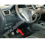 OBD2 Connector Location In Nissan Qashqai 2014