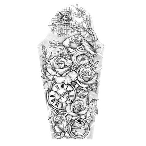 rose tattoos sleeve designs travel and roses sleeve design tatoo