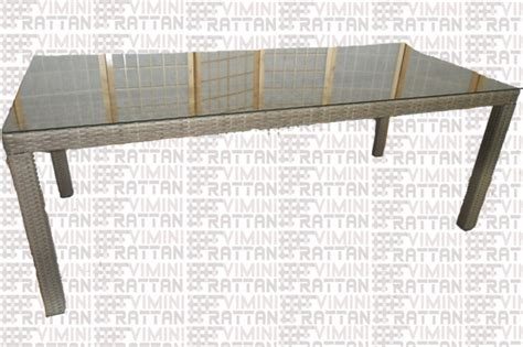 tavoli da esterno in rattan tavoli da giardino in rattan sintetico