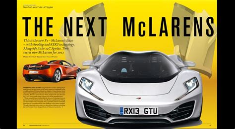 mclaren p12 2013 car s scoop on the f1 successor by car