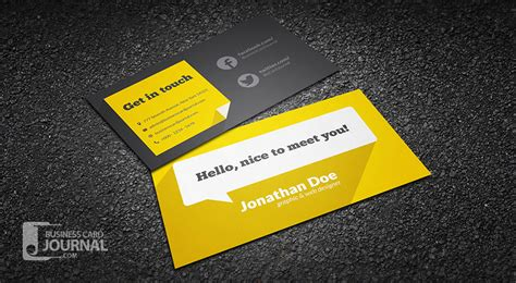 business card templates for freelancers free flat design business card template with shadow