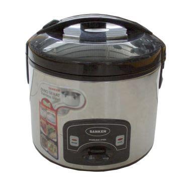 Sanken Sj 135m Rice Cooker 1 L Black Stainless harga sanken sj 150 rice cooker hitam 1 2 l murah