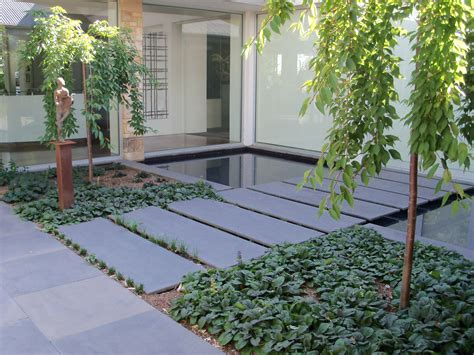 patio walkway stones bluestone pavers water feature resonate well with
