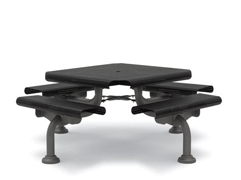 wabash valley benches 46 inch commercial outdoor square table camden collection