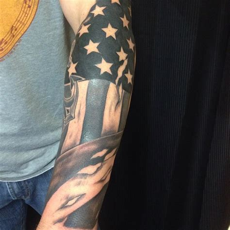 patriotic sleeve tattoos 51 amazing us flag tattoos