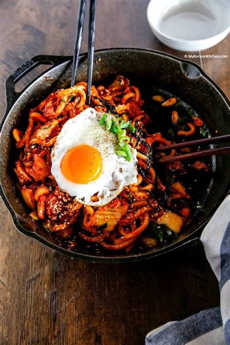 The Kimchi Chronicles Korean Cooking For An American Kitchen by Kimchi Udon Noodle Stir Fry My Korean Kitchen