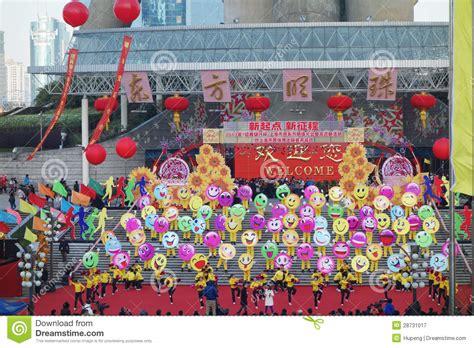 new year activities shanghai new year s day climbing activities in shanghai editorial