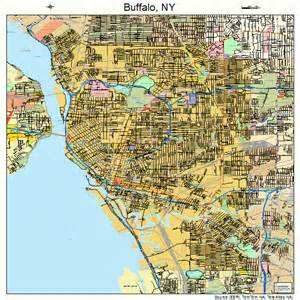 buffalo map buffalo new york map 3611000