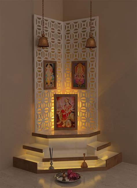 pooja room design  interior designer kamlesh
