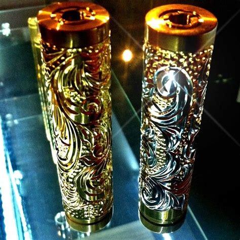 Mod Vapor Vape Battle Gold Edition j2p custom 24k gold custom koi engraved one of a vape mod vapes ecigs accessories