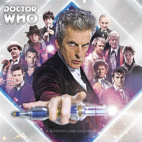 doctor who official annual 2018 books doctor who 2018 calendar merchandise guide the doctor