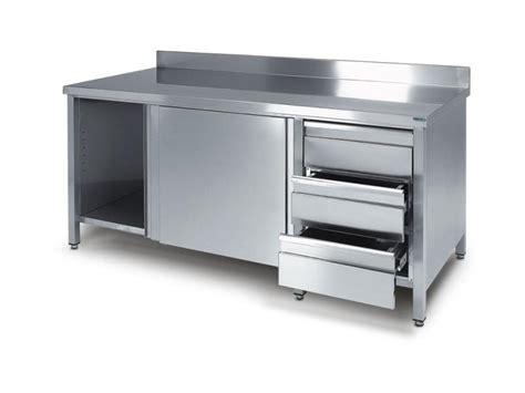 mobili cucina acciaio inox emejing cucine in acciaio inox usate gallery