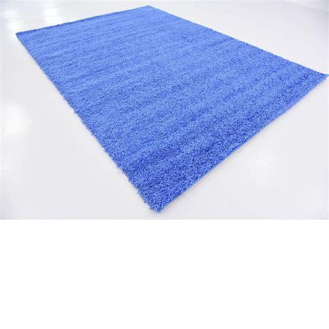 periwinkle rug periwinkle blue 6 11 x 10 solid shag modern rugs floor carpet area rug ebay