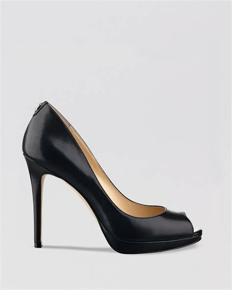 ivanka high heels ivanka maggie high heel peep toe platform pumps in