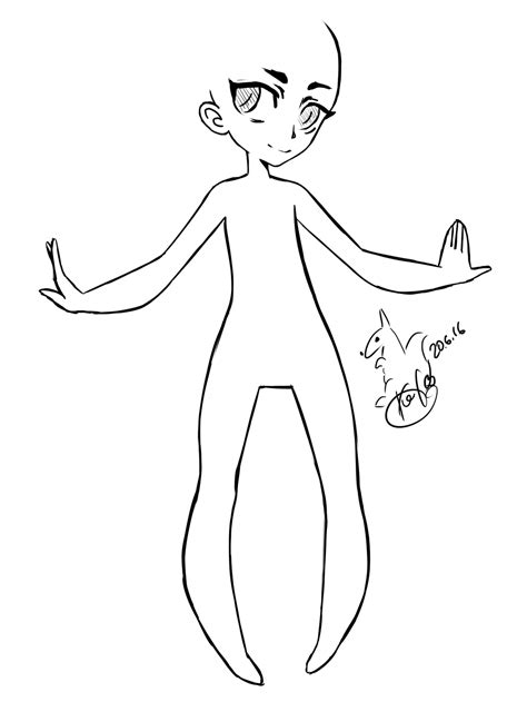 l bases chibi body base coloring coloring pages