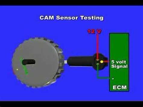 cam or camshaft position sensor testing youtube