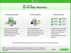 any data recovery pro full version tenorshare any data recovery pro crack latest full version
