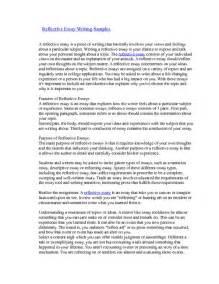 Writing Essay Pdf by Reflective Essay Writing Sles Pdfsr